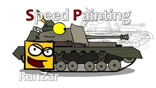 Speed Paint Archer. RanZar. Рандомные Зарисовки.