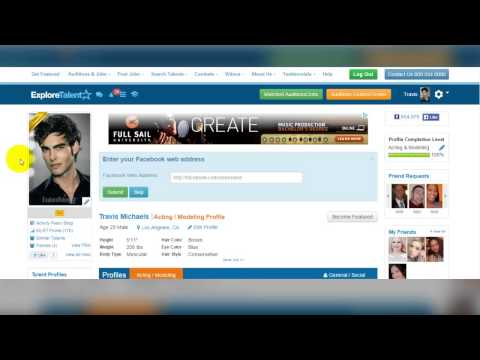 Explore Talent Profile l How To Upload Photos
