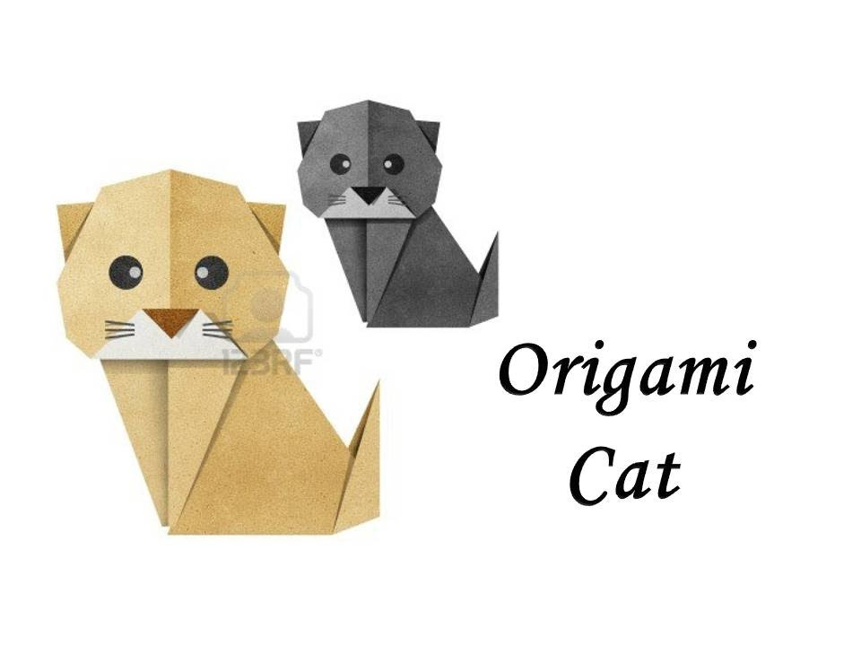 How to make an Origami Cat - YouTube - photo#16