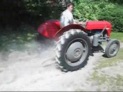 Sportowy traktor