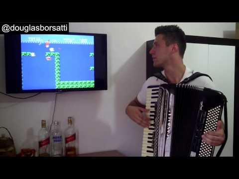 Trilha Sonora do Mario Bros no acordeon - Douglas Borsatti