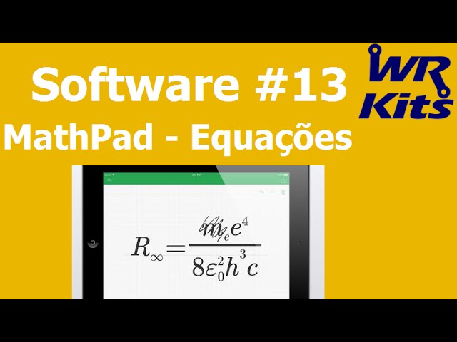 MATHPAD EQUAÇÕES (iOS) | Software #13