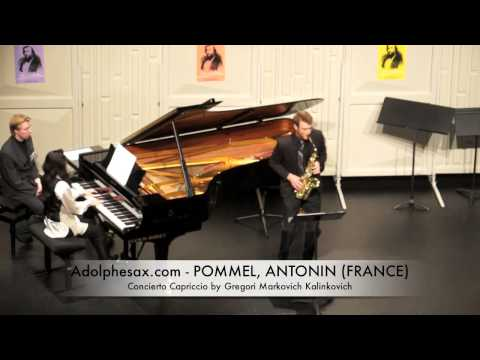 Dinant 2014 - Antonin Pommel Concierto Capriccio by Gregori Markovich Kalinkovich
