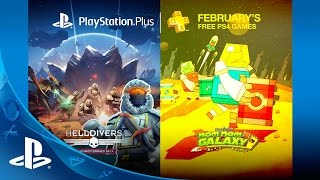 Nom Nom Galaxy and Helldivers among free PlayStation Plus games in February