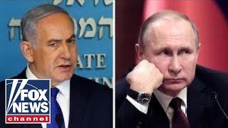 Russia blames Israel for air strike in Syria