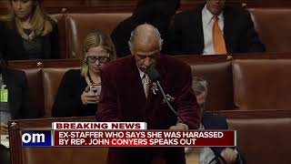 Congressman John Conyers flies home to Detroit as scandal rages around him