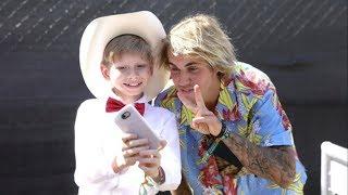 Justin Bieber and Yodeling Walmart Kid at Coachella 2018! | Mason Ramsey