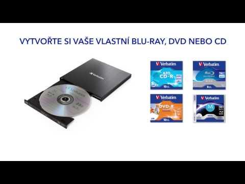 Externí Blu-ray Slimline vypalovačka Verbatim sUSB 3.0
