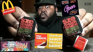 McDonald's ☆SZECHUAN SAUCE☆Review!!!!