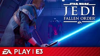 Star Wars Jedi: Fallen Order Full Gameplay Reveal Presentation | EA Play E3 2019