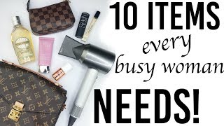 10 style items EVERY BUSY WOMAN NEEDS   Fashion and beauty must haves for stylish women!