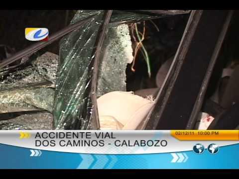 Reporte de prensa de Televisora de Calabozo (TVCC), accidente de Juan carlos Adrianza El FABULOSO