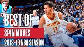 NBA's Best Spin Moves | 2018-19 NBA Season | #NBAHandlesWeek