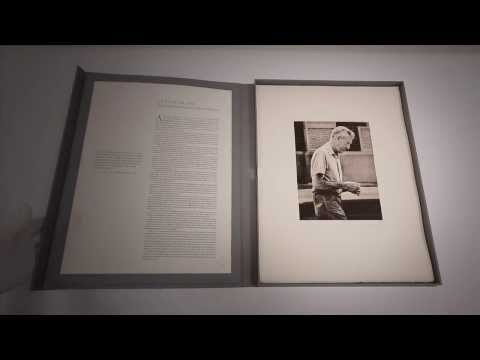 J.D.Salinger Limited Edition Photogravure