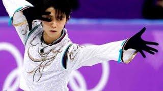 Japan's Yuzuru Hanyu wins gold in men's singles figure skating