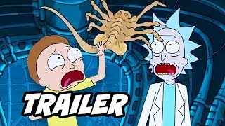 Rick and Morty Season 3 Alien Trailer and Season 3 Episode 2 Update