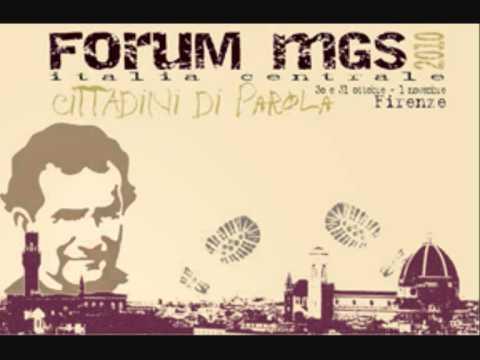 Cittadini di Parola - Forum MGS 2010