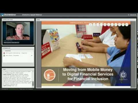 Apply It! Webinar: Moving from Mobile Money to Digital Financial Services for Financial Inclusion