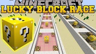 Minecraft: DEADLIEST LUCKY BLOCK RACE - Lucky Block Mod - Modded Mini-Game