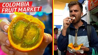 Tasting Some of the Wildest Fruit at Bogotá's Paloquemao Market  — Vox Borders