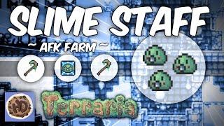 Terraria AFK Rapid Slime Staff Farm   1.3 Summoner Tips
