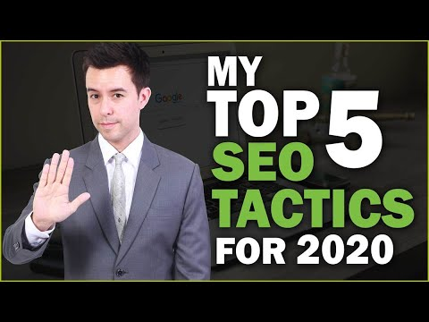 Top 5 SEO Tips for 2020