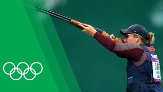 How Kim Rhode [USA] became the most decorated female Olympic shooter