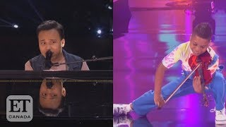 Reaction To Kodi Lee & Tyler Butler-Figueroa's 'AGT' Semi-Final Performances