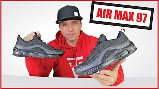 NIKE AIR MAX 97 ORIGINAL Review + Unboxing + On feet