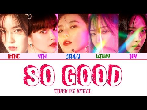 Red Velvet (레드벨벳) - SO GOOD LYRICS (Color Coded Eng/Rom/Han/가사)