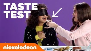 Blindfold Taste Test w/ Lizzy Greene, Riele Downs, Breanna Yde & More! 🍒 | #FunniestFridayEver