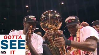 GOTTA SEE IT: Toronto Raptors Celebrate First Ever NBA Championship