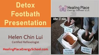 Detox Footbath Presentation