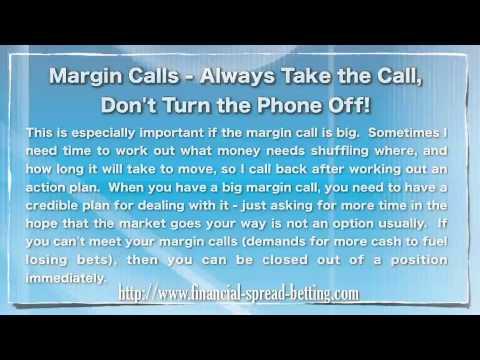 Spread Betting Margin Calls