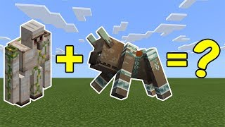 I Combined an Iron Golem and a Ravager in Minecraft - Here's What Happened...