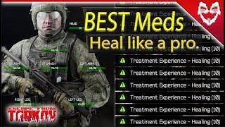 Medications Guide - Escape from Tarkov (spreadsheets, best/worst, how to heal)