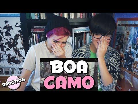 BOA - CAMO ★ MV REACTION