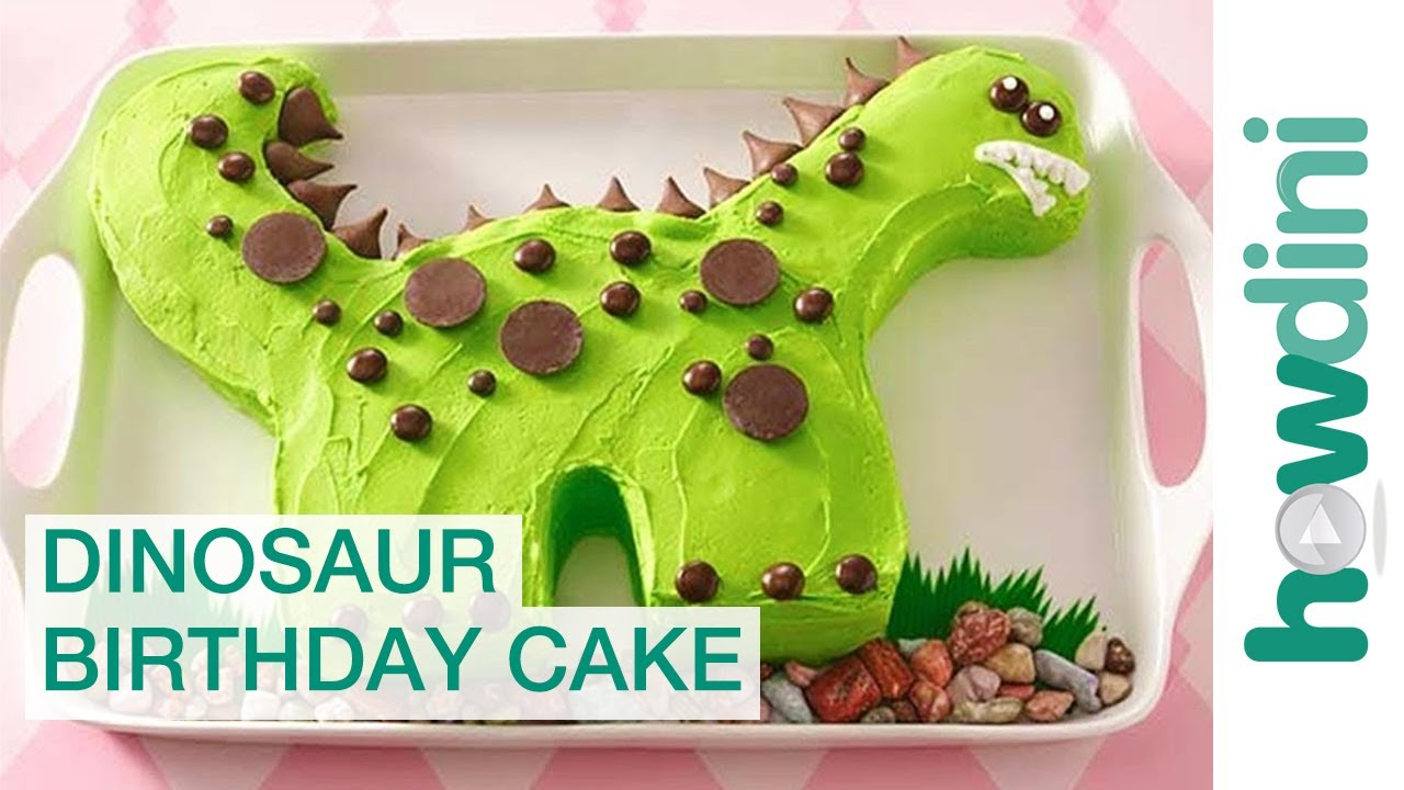 Birthday Cake Ideas Dinosaur Birthday Cake Decorating
