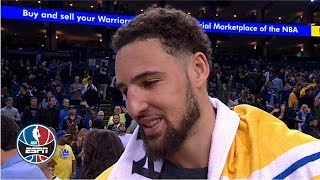 Klay Thompson: Warriors have their 'eyes set on that 3-peat'   NBA Countdown