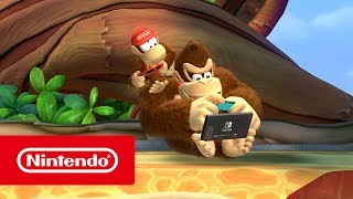 Donkey Kong Country: Tropical Freeze – Tráiler general (Nintendo Switch)