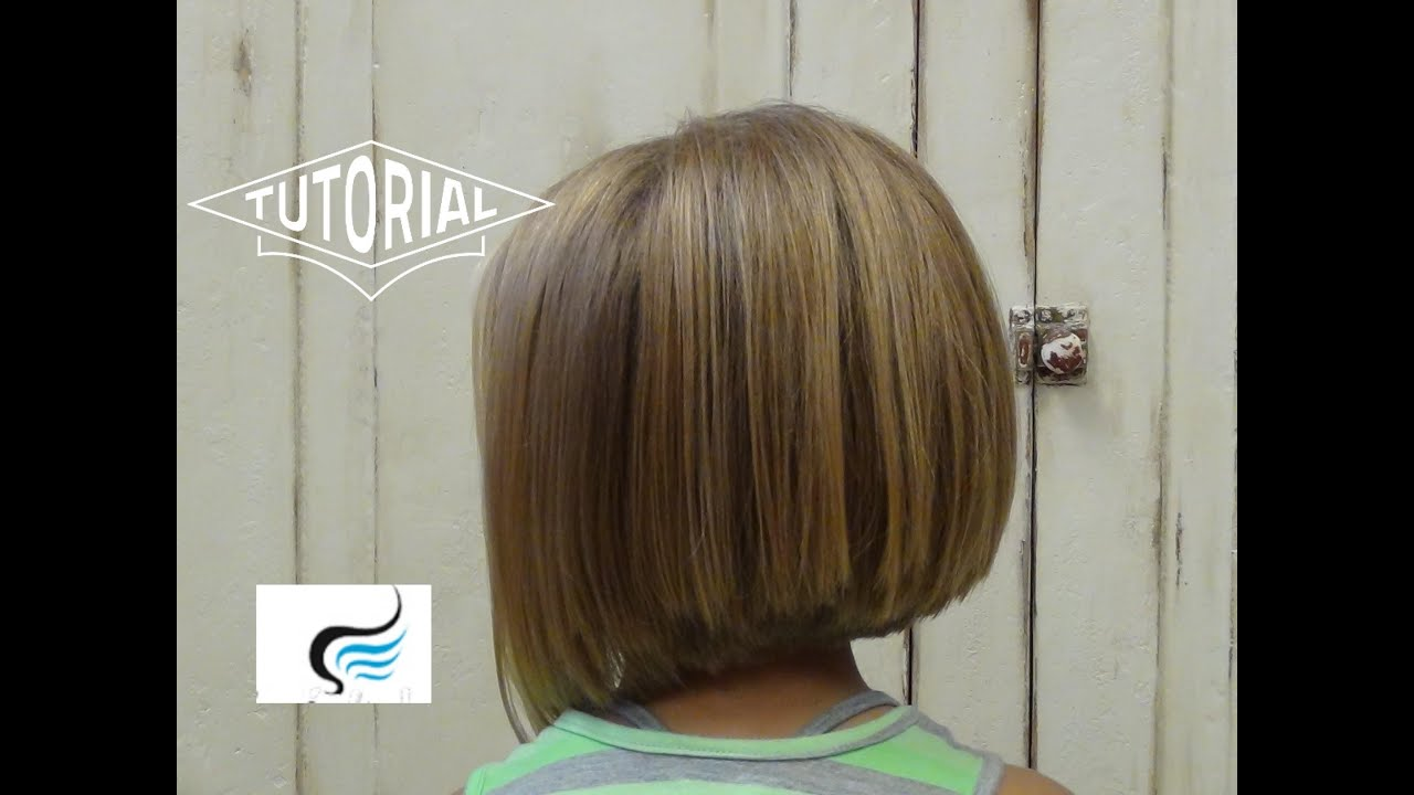 Adorable A Line Hairstyle For Little Girls Youtube