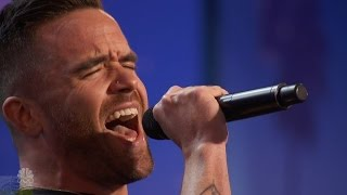 America's Got Talent 2016 Brian Justin Crum Amazing Singer Hits The Highs Full Audition Clip S11E