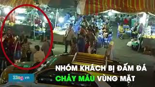 Video du khách bị đánh tại chợ đêm Đà Lạt vì chê đồ ăn