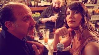 Inconvenient Interviews w/Risa: Speakeasy Cocktails with Nick Sandow | HelloGiggles