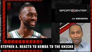 Stephen A. reacts to Kemba Walker signing with the Knicks after a buyout from OKC | SportsCenter