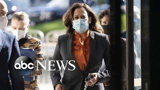ABC News Live Update: Sen. Harris halts travel, 2 people test positive for COVID-19