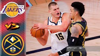 Los Angeles Lakers vs Denver Nuggets Full Game Highlight 1st Qtr | Game 3 West Finals | NBA Playoffs
