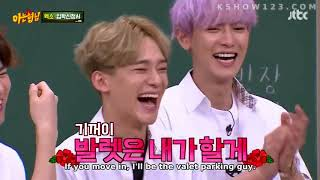 Knowing brother ep 85 with EXO