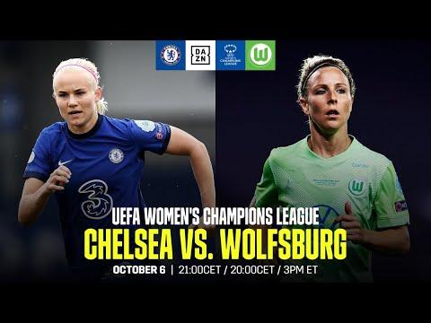 Chelsea vs. Wolfsburg   UEFA Women's Champions League Match Day 1 Full Match