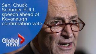 Chuck Schumer calls Kavanaugh confirmation a 'low moment' for U.S. Senate